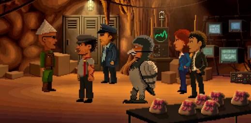 """Stahujte zdarma PC hru """"Thimbleweed Park"""": Na malém městě se stala vražda. Dokážete najít vraha?"""