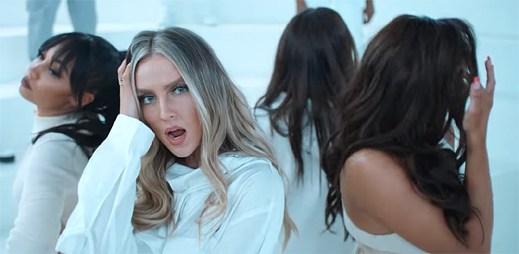 """Žhavé holky z Little Mix svádějí svými pohledy objektiv kamery v klipu """"Think About Us"""""""