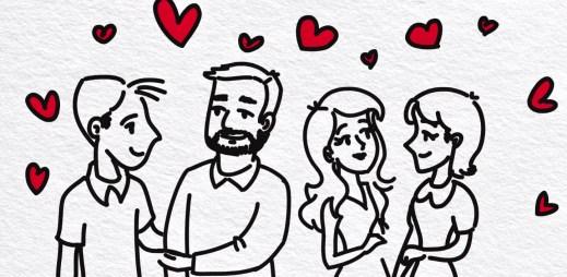 Jsme fér: Hrozbou heterosexuálního manželství nejsou gayové, ale heterosexuální rozvod