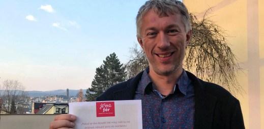 Starosta města Jablonec nad Nisou Milan Kroupa souhlasí s manželstvím pro gaye a lesby
