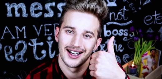 Slovenský sexy youtuber Ben Slamka je single. Hledá přítele!