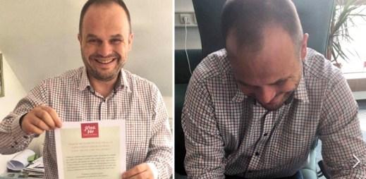 """Starosta Nového Města na Moravě Michal Šmarda: """"Souhlasím s manželstvím pro gaye a lesby"""""""
