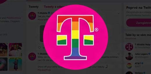 Mobilní operátor T-Mobile podporuje Gay Pride 2019