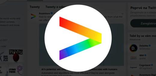 Poradenská agentura Accenture podporuje Gay Pride 2019