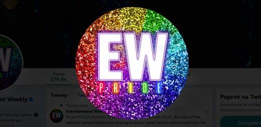 Americký kulturní týdeník Entertainment Weekly podporuje Gay Pride 2019