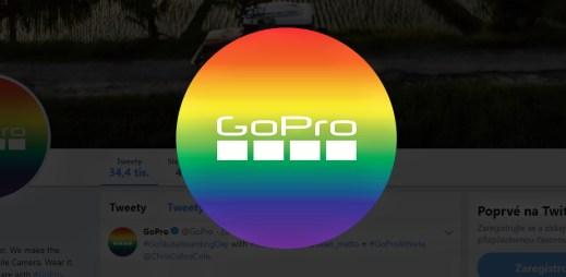 Výrobce kamer GoPro podporuje Gay Pride 2019