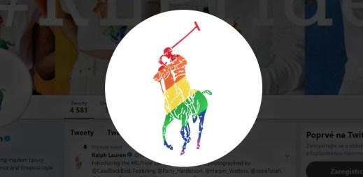 Módní značka Ralph Lauren podporuje Gay Pride 2019