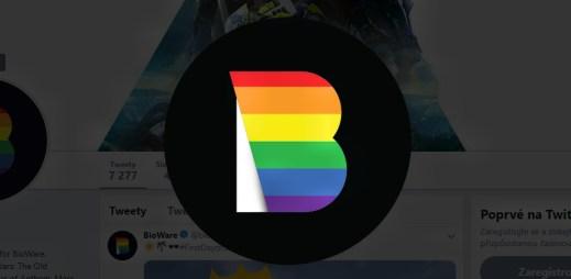 Herní vývojářské studio oblíbených hitů Mass Effect, Dragon Age a Baldur's Gate podporuje Gay Pride 2019
