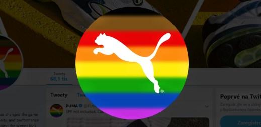 Výrobce sportovního oblečení a obuvi Puma podporuje Gay Pride 2019