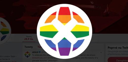 Herní magazín IGN podporuje Gay Pride 2019