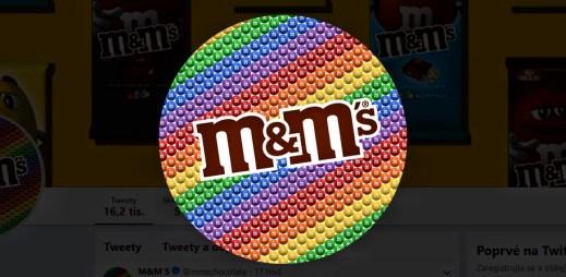 Čokoládové bonbóny M&M podporují Gay Pride 2019