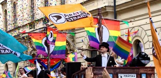 Piráti se opět zúčastní festivalu Prague Pride