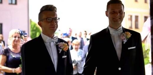 Gay svatba Jakuba a Tomáše? Opravdová zatím ne, ta je v Česku jen pro někoho
