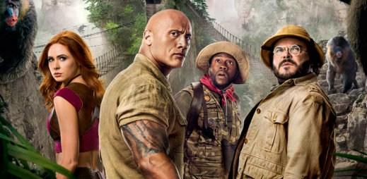"""Nový trailer k filmu """"Jumanji: Další level"""". Hra se změnila, přichází nástrahy v rozpálené poušti a zasněžená pohoří"""