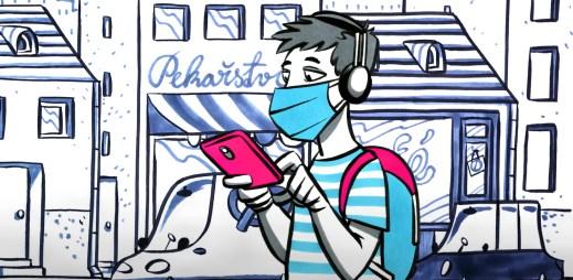 Stáhněte si aplikaci eRouška do svého mobilu. Chraňte sebe i ostatní před nemocí COVID-19