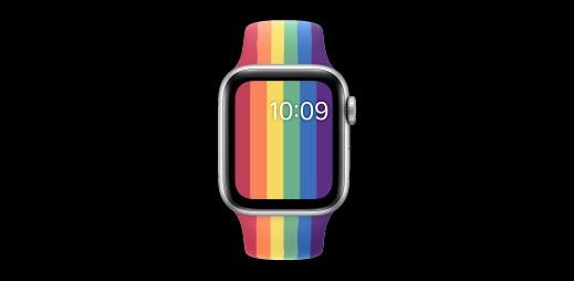 Apple podporuje Gay Pride 2020. Odhalil dva nové sportovní řemínky pro Apple Watch v duhových barvách