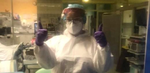 """Zdravotní sestra: """"COVID-19 není chřipka ani HOAX. Lidé z minuty na minutu bojují o život"""""""