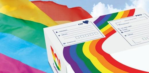 Česká pošta podporuje Prague Pride 2021 a vyzývá k rovnosti na pracovišti pro gaye a lesby